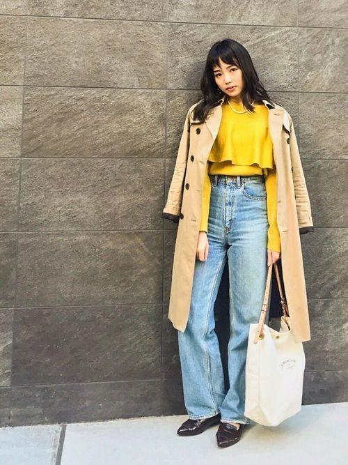 「冬トレンチ」のすすめ♡冬のトレンチコート着こなし10選の11枚目の画像