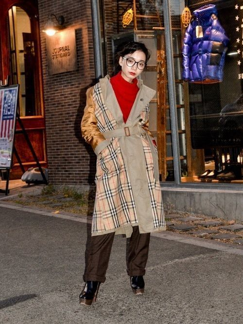 「冬トレンチ」のすすめ♡冬のトレンチコート着こなし10選の13枚目の画像