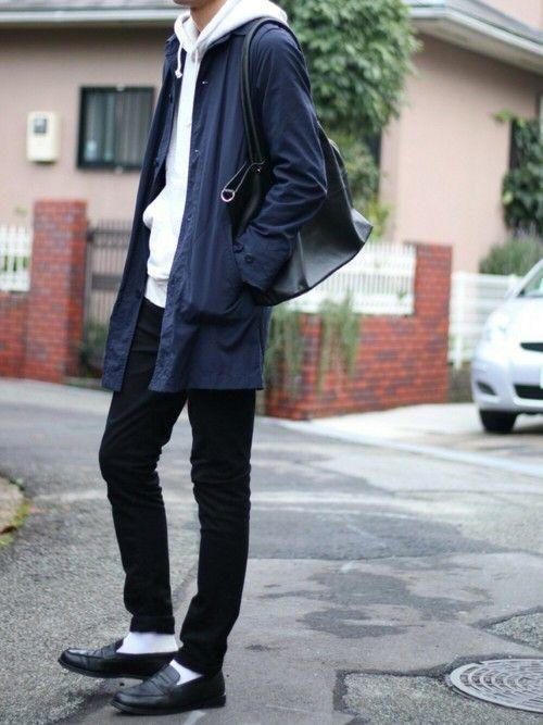 足元から作る通年メンズローファーコーデ。着こなしファッション特集