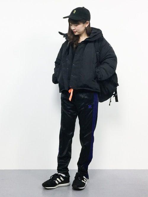 2017秋冬はアディダスのジャージでメンズライクコーデに挑戦♡の1枚目の画像