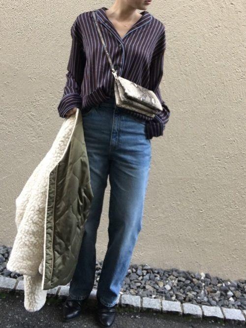 大人の休日コーデ♪レディースの【ストライプシャツ】を解説♡の6枚目の画像