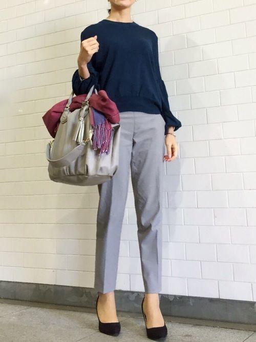 オフィスコーデは【パンツスタイル】で職場で噂のおしゃれな女性に♡