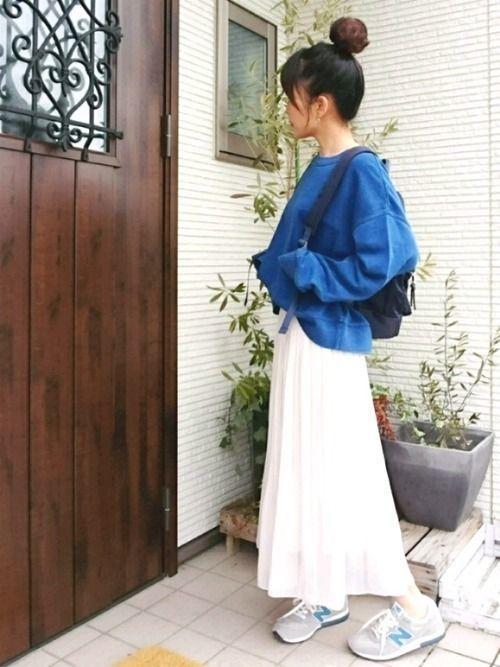 2018年春を先取り!プリーツスカートで作る最旬春コーデ♡の10枚目の画像