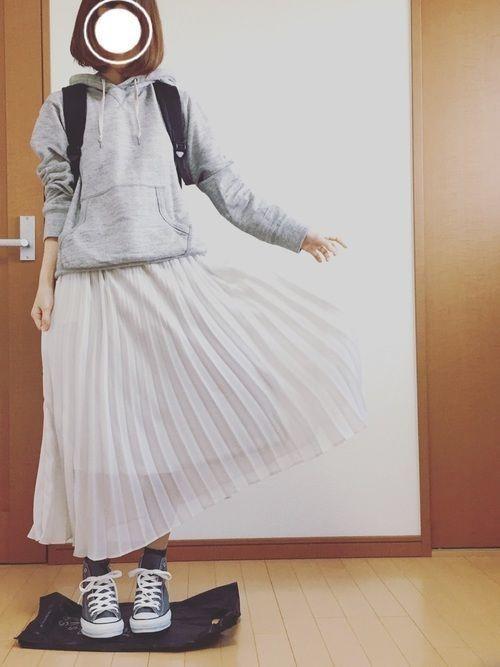 2018年春を先取り!プリーツスカートで作る最旬春コーデ♡の11枚目の画像