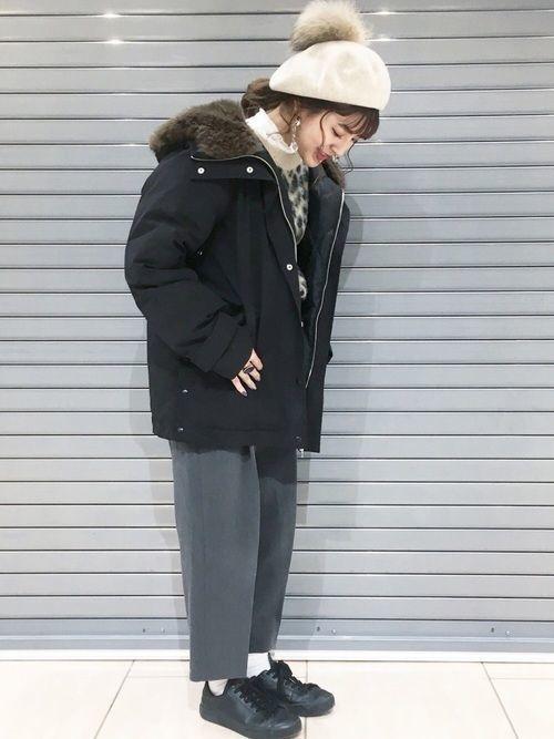 寒い日も怖くない!おしゃかわダウンジャケットで真冬も乗り切ろう♡の2枚目の画像