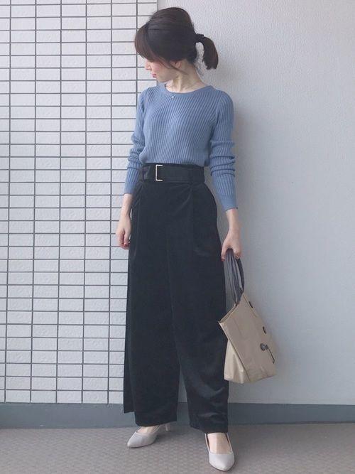 冬の着こなしコーデ《ワイドパンツ×コートor靴》のおすすめ♡の21枚目の画像