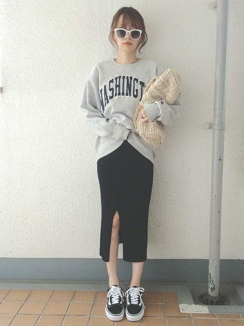 【春夏秋冬】タイトスカート(ミニ・ロング)の着回しコーデ術♡の13枚目の画像