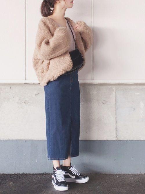 【春夏秋冬】タイトスカート(ミニ・ロング)の着回しコーデ術♡の14枚目の画像
