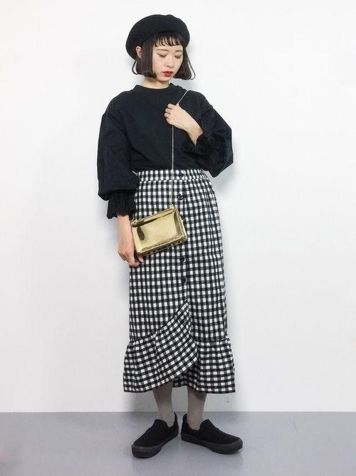 かわいいが詰まった【ギンガムチェックスカート】でモテコーデ作り♡の20枚目の画像