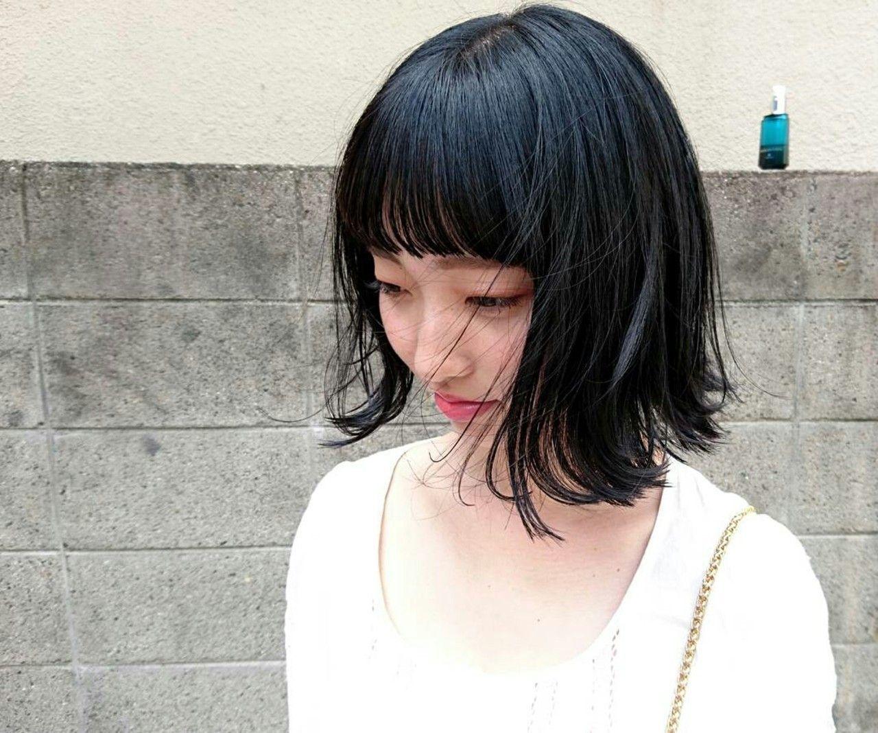 次のヘアカラーは、ブルーブラックへシフト!透明感を手に入れよう♡の9枚目の画像