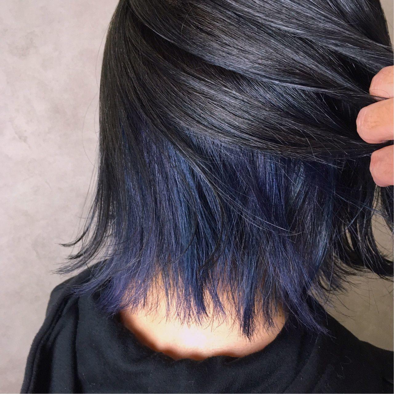 次のヘアカラーは、ブルーブラックへシフト!透明感を手に入れよう♡の19枚目の画像