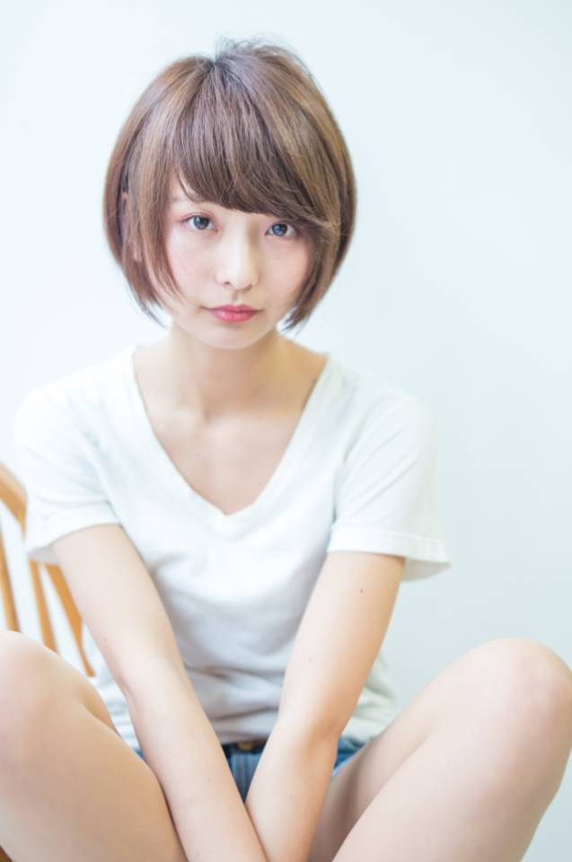 【ベース型さん向け前髪】たった2つのポイントで小顔になれる♡の9枚目の画像