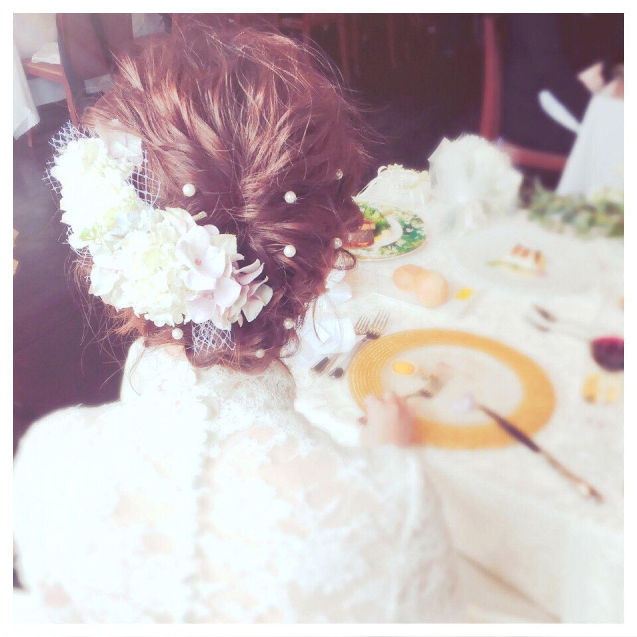 隠し味は【パールピン】!かわいいおすすめヘアアレンジ叶えます♡の5枚目の画像