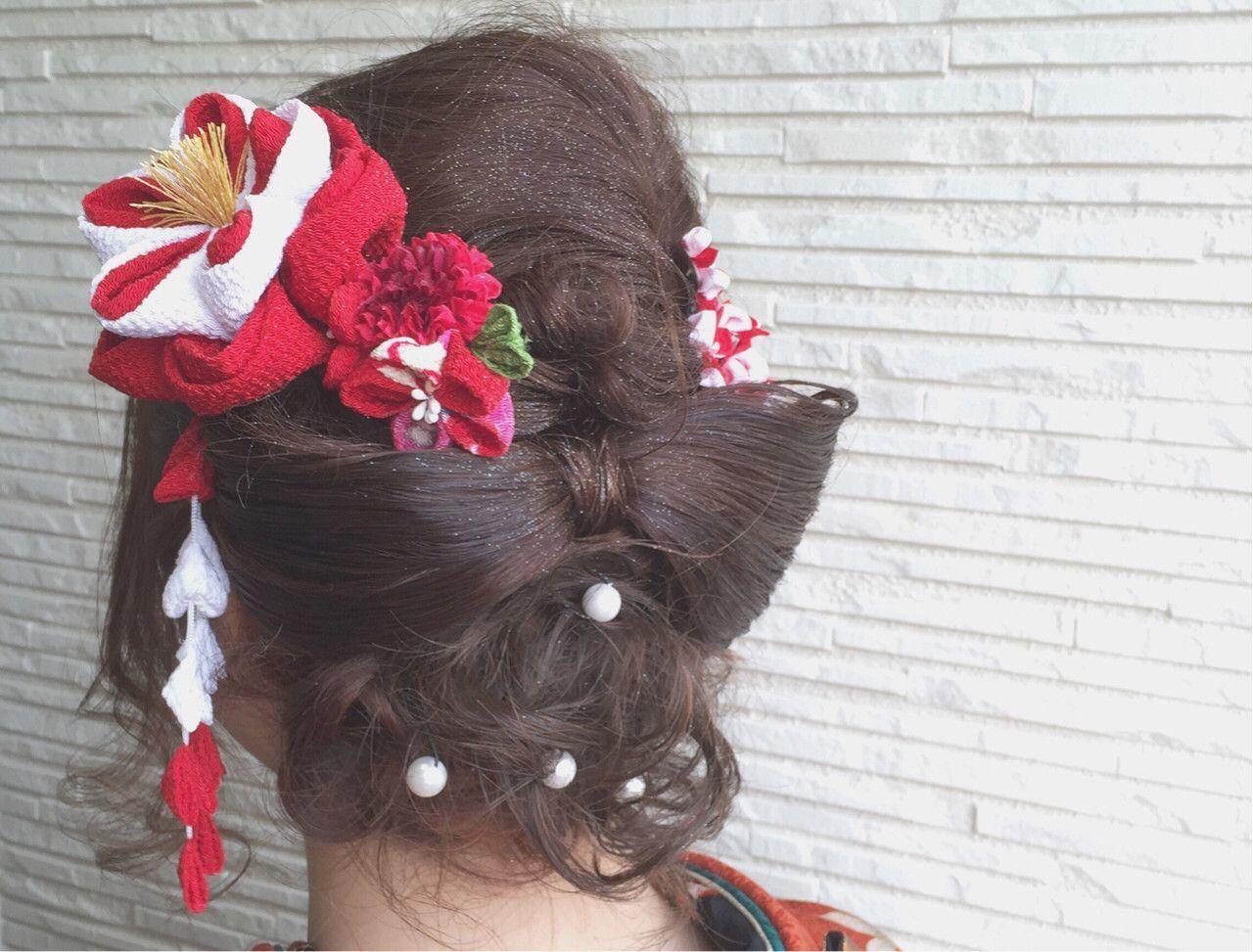 隠し味は【パールピン】!かわいいおすすめヘアアレンジ叶えます♡の9枚目の画像