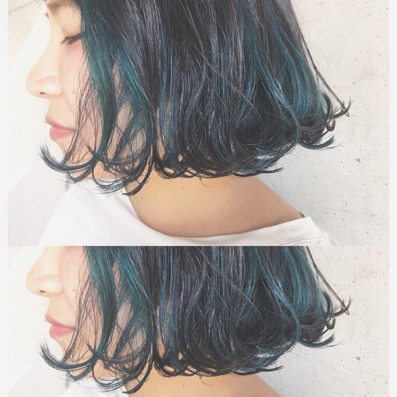 次のヘアカラーは、ブルーブラックへシフト!透明感を手に入れよう♡の20枚目の画像