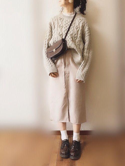 【春夏秋冬】タイトスカート(ミニ・ロング)の着回しコーデ術♡の23枚目の画像