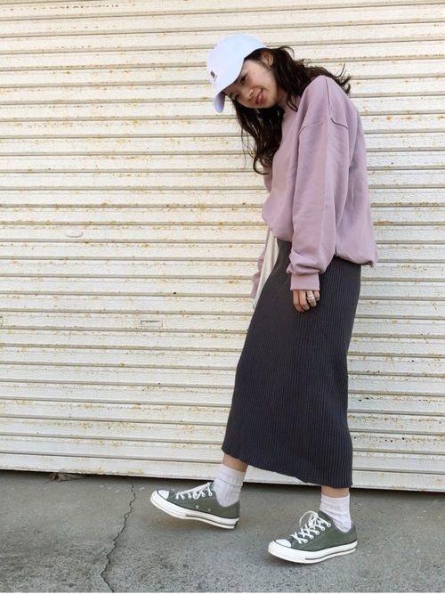 【春夏秋冬】タイトスカート(ミニ・ロング)の着回しコーデ術♡の12枚目の画像
