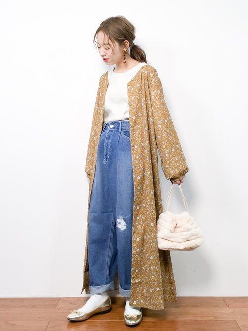 コーデ 春 服