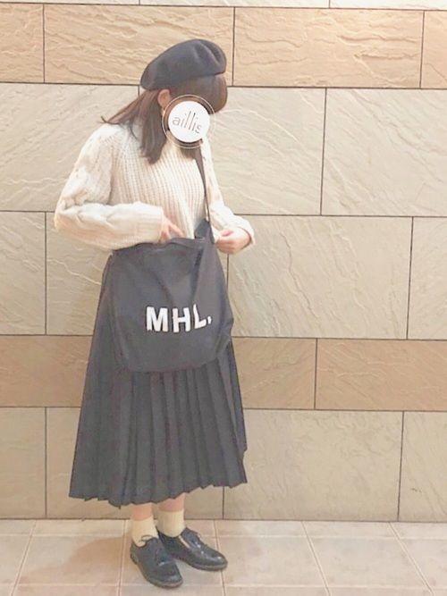 注目アイテム♡男女問わず人気のMHL.トートバッグが離せない♡   ARINE ...