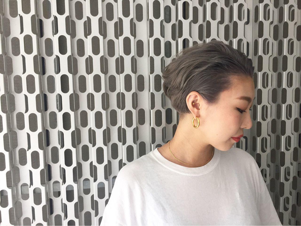 01512e881a88 首元もすっきりしていて、春・夏にぴったりのヘアスタイルですね。それに加え、オールバックにすることでさわやかさばっちりです。