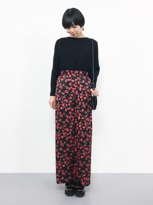 b4fd473c13fba 暖かい時期は♡花柄パンツでこなれ感のある着こなしに
