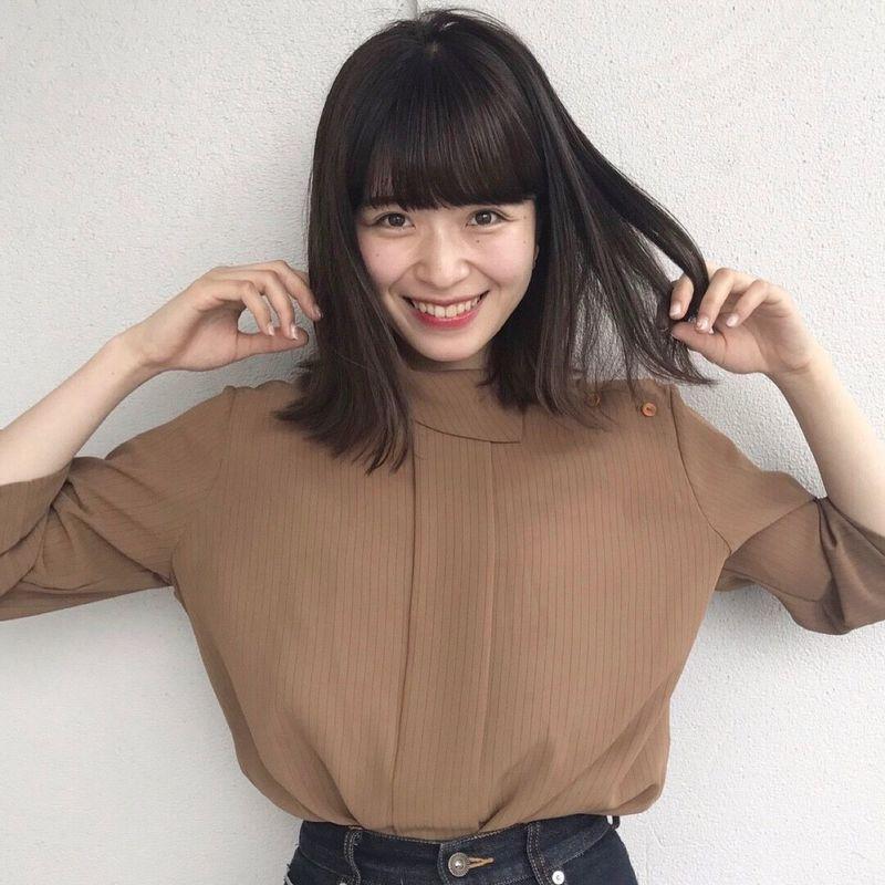 黒髪ミディアム×パーマで女度アップ♡かわいいヘアスタイル教え