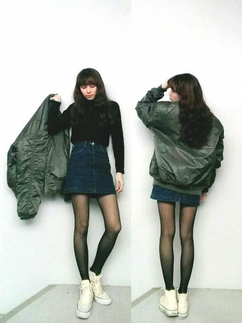 デニムスカートといえば、やっぱ【ミニ】!おしゃれな春コーデ特集♡の9枚目の画像