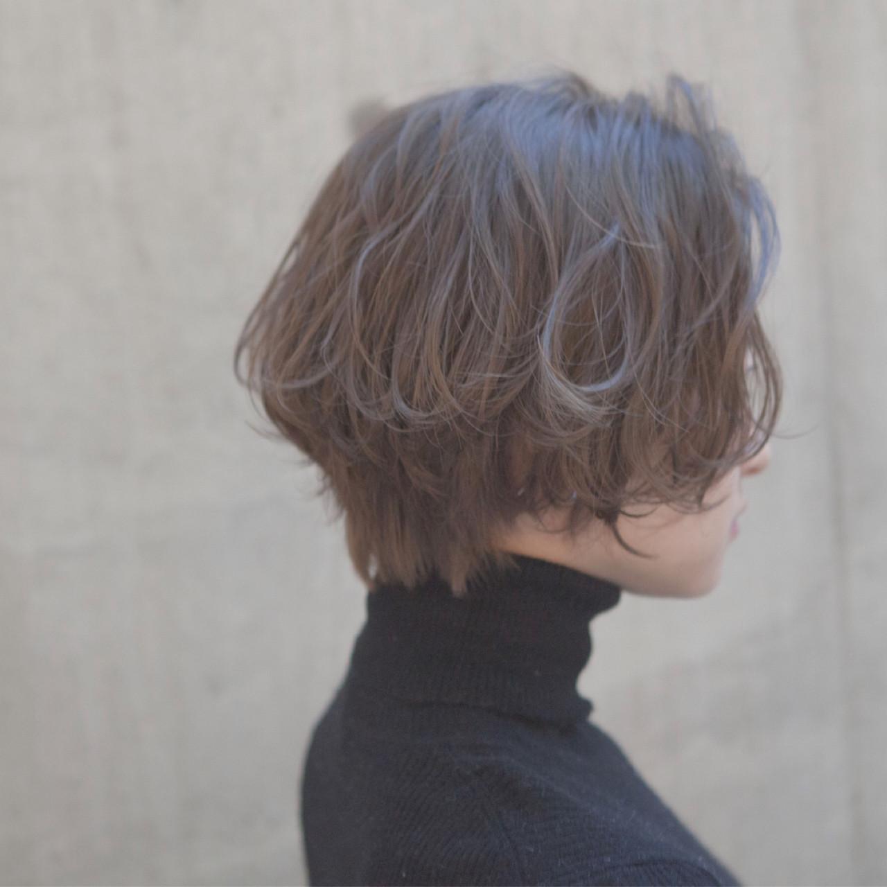 面長にボブ、実は似合います!小顔見せを叶える髪型を総まとめの13枚目の画像