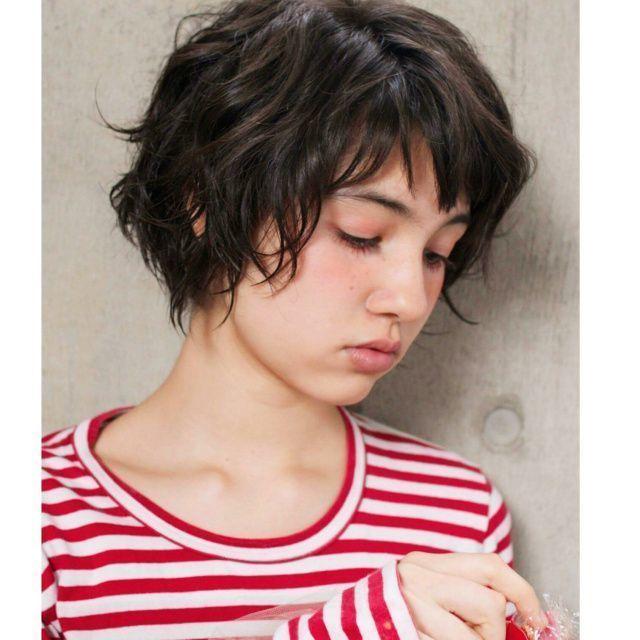 黒髪ショートカットまとめBOOK♡パーマ・カラー・アレンジも紹介