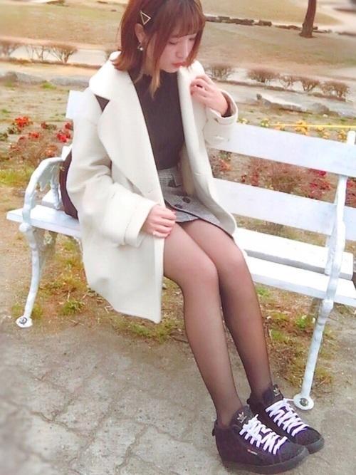 艶っぽスタイル♡あなたもはじめよう《20デニールの恋コーデ》