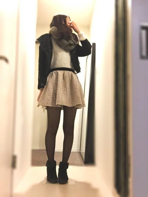 艶っぽスタイル♡あなたもはじめよう《20デニールの恋コーデ》の3枚目の画像
