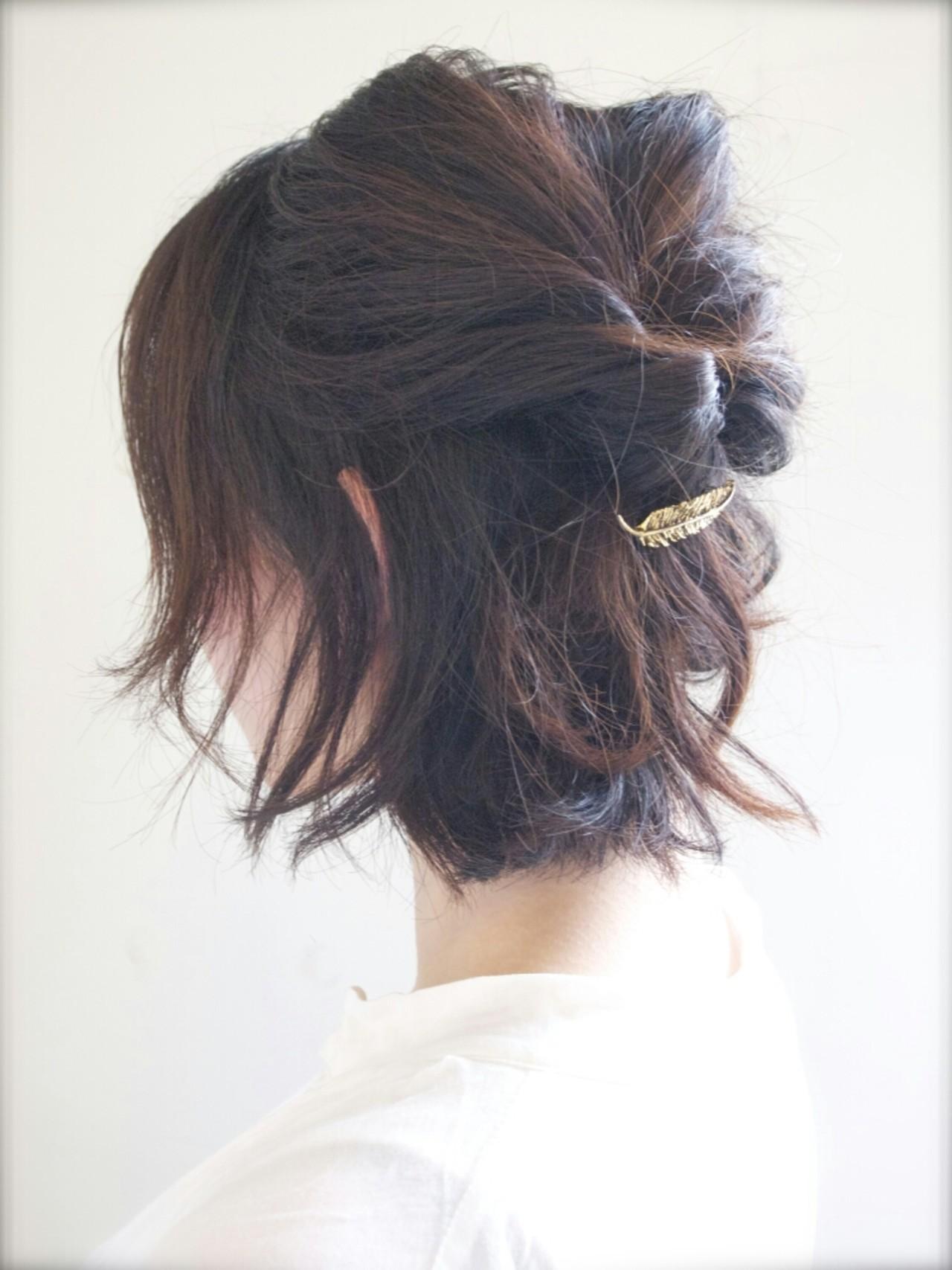 可愛いあの子の秘密は髪型にあった?可愛いが溢れるハーフアップヘアの4枚目の画像