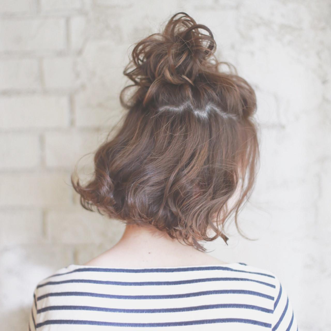 可愛いあの子の秘密は髪型にあった?可愛いが溢れるハーフアップヘアの6枚目の画像
