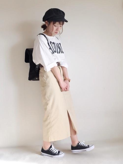 おしゃれさんは手抜きしない!デザイン性重視のTシャツコーデ♡の3枚目の画像