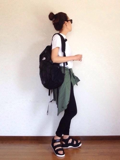 【2018春夏】腰巻シャツの巻き方は?レディースコーデ紹介♡の8枚目の画像