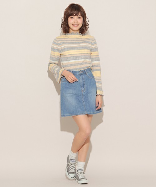 【ぽっちゃり女子必見】着やせできるスカート丈を教えちゃいます♡の9枚目の画像