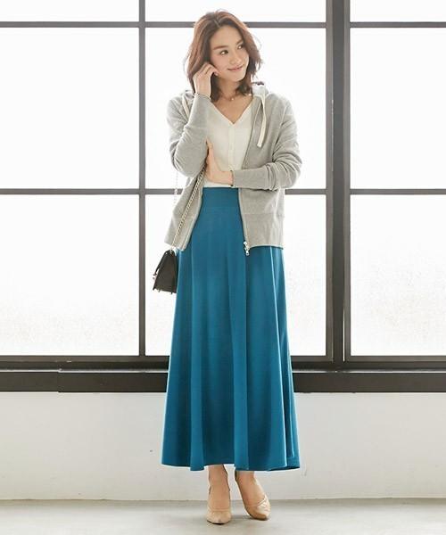 【ぽっちゃり女子必見】着やせできるスカート丈を教えちゃいます♡の10枚目の画像