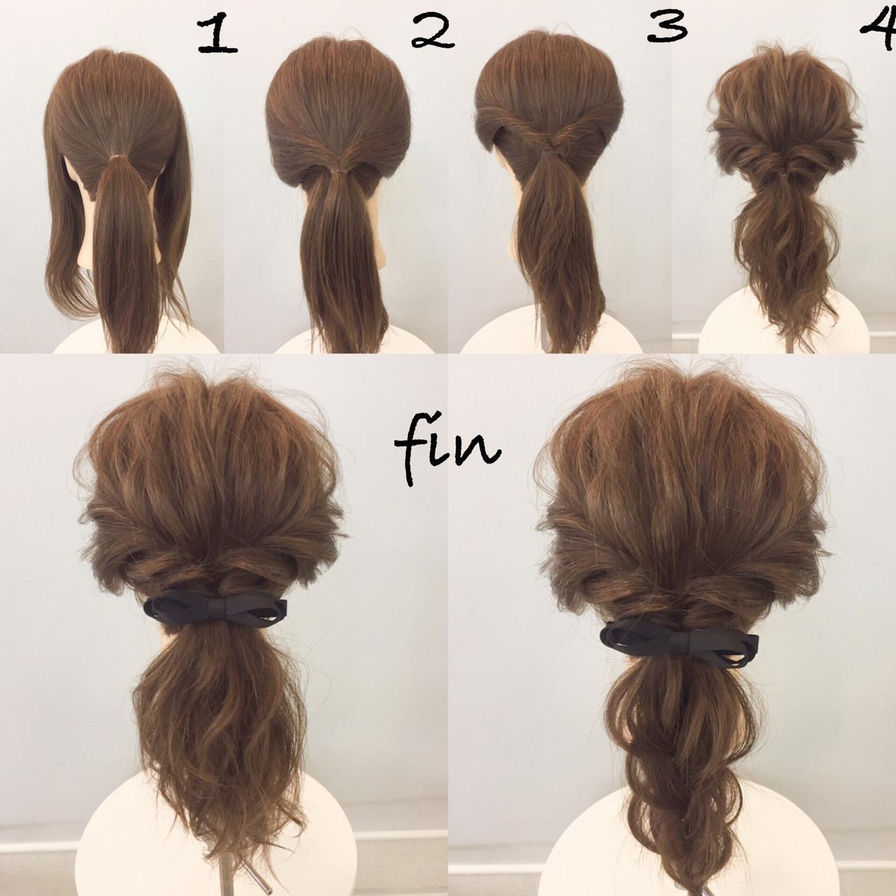 【ミディアムヘア】披露宴用髪型♡簡単セルフアレンジ