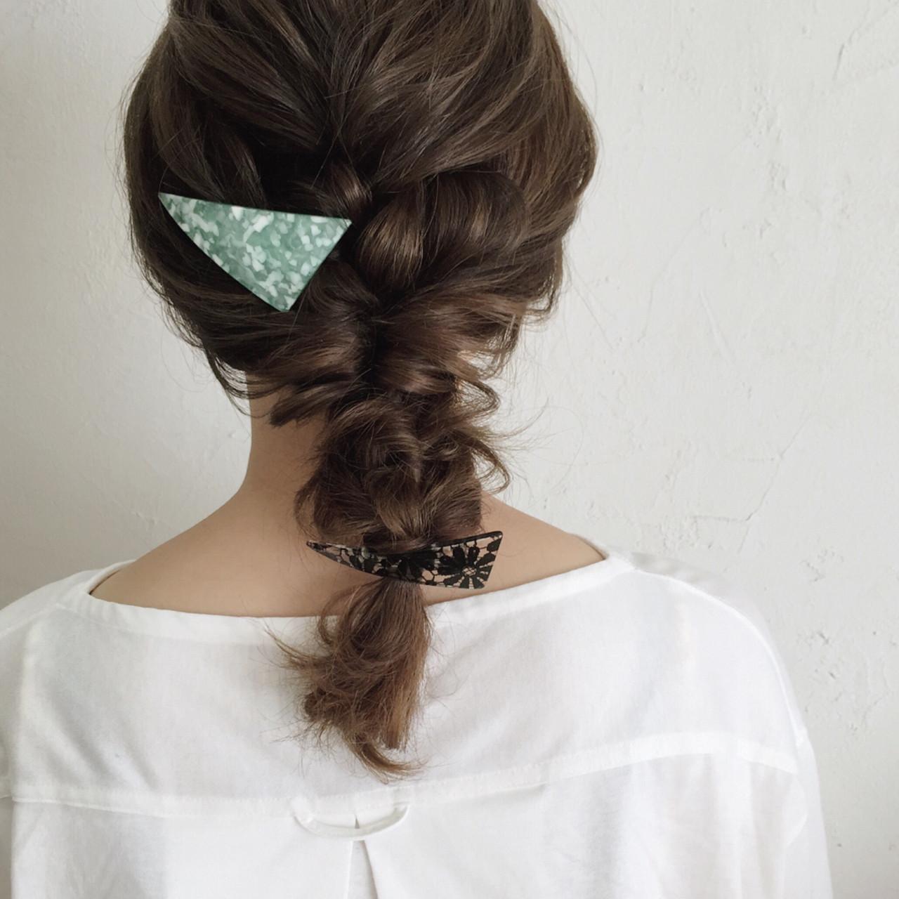 髪型はミディアムで決まり!簡単アレンジで誰でもかわいくなれる!♡の8枚目の画像