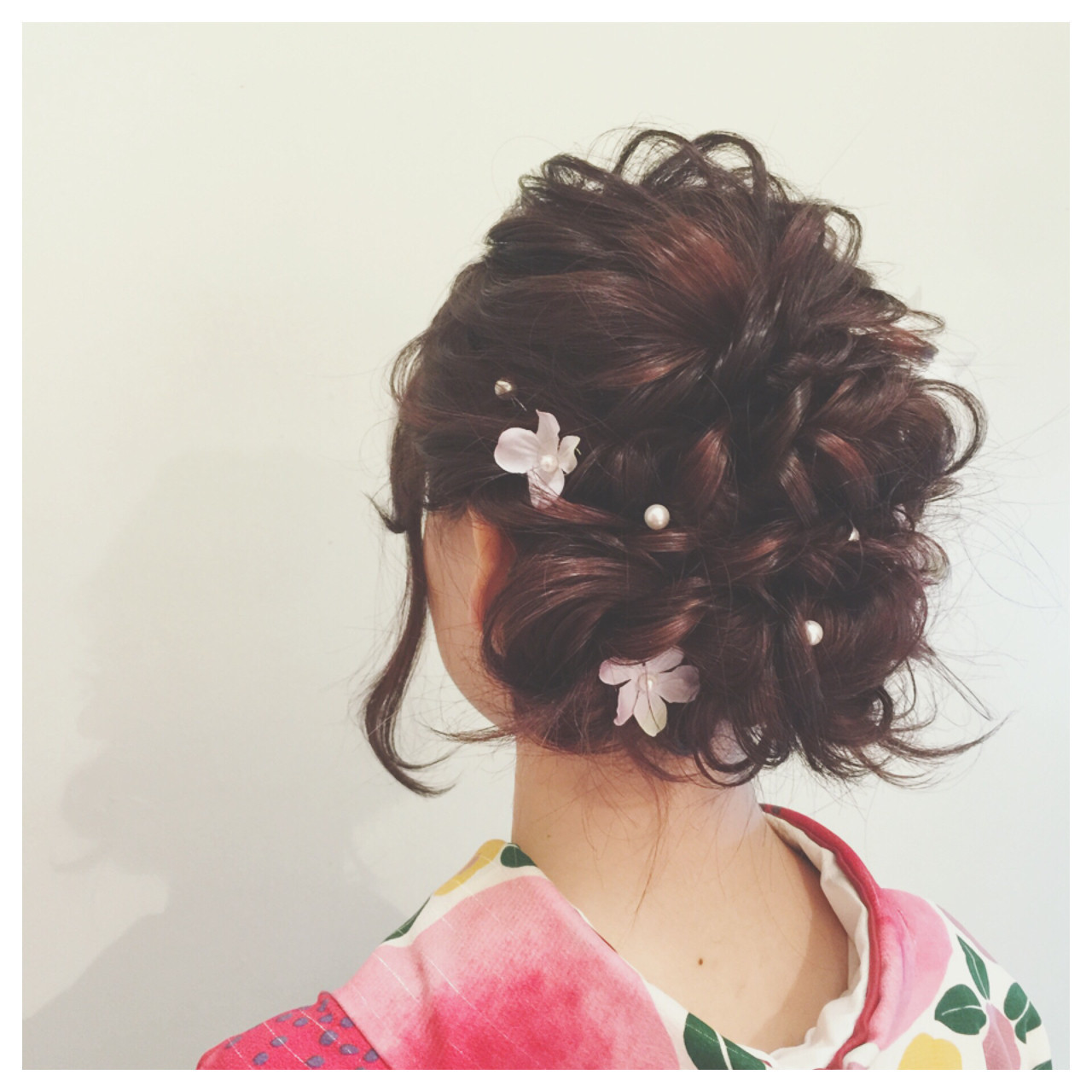 振袖に合う髪型は 華やかアレンジでいつもとは違う特別感 Arine