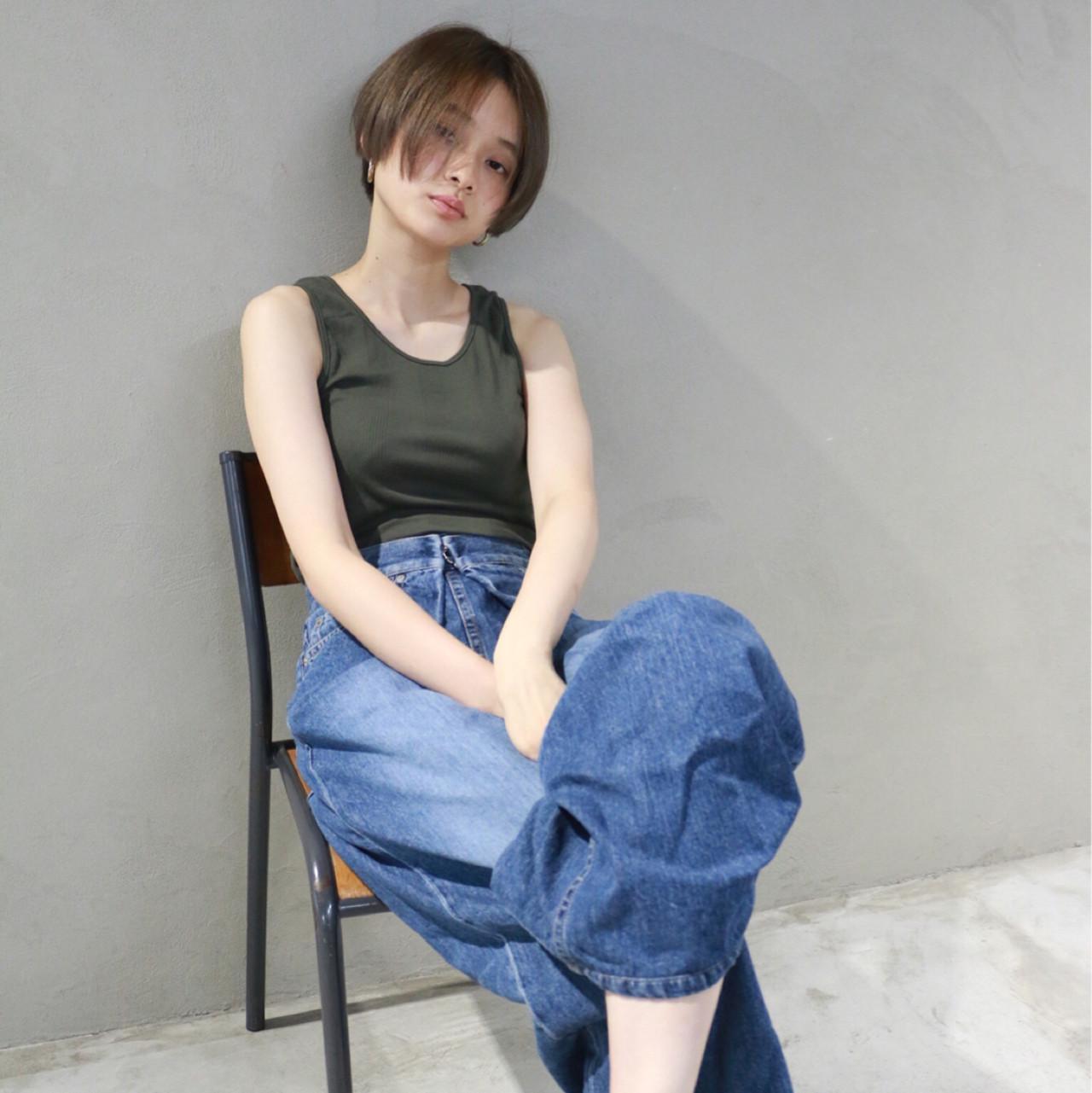 縮毛矯正をプラスして、完成度の高いショートスタイルの完成♡の3枚目の画像