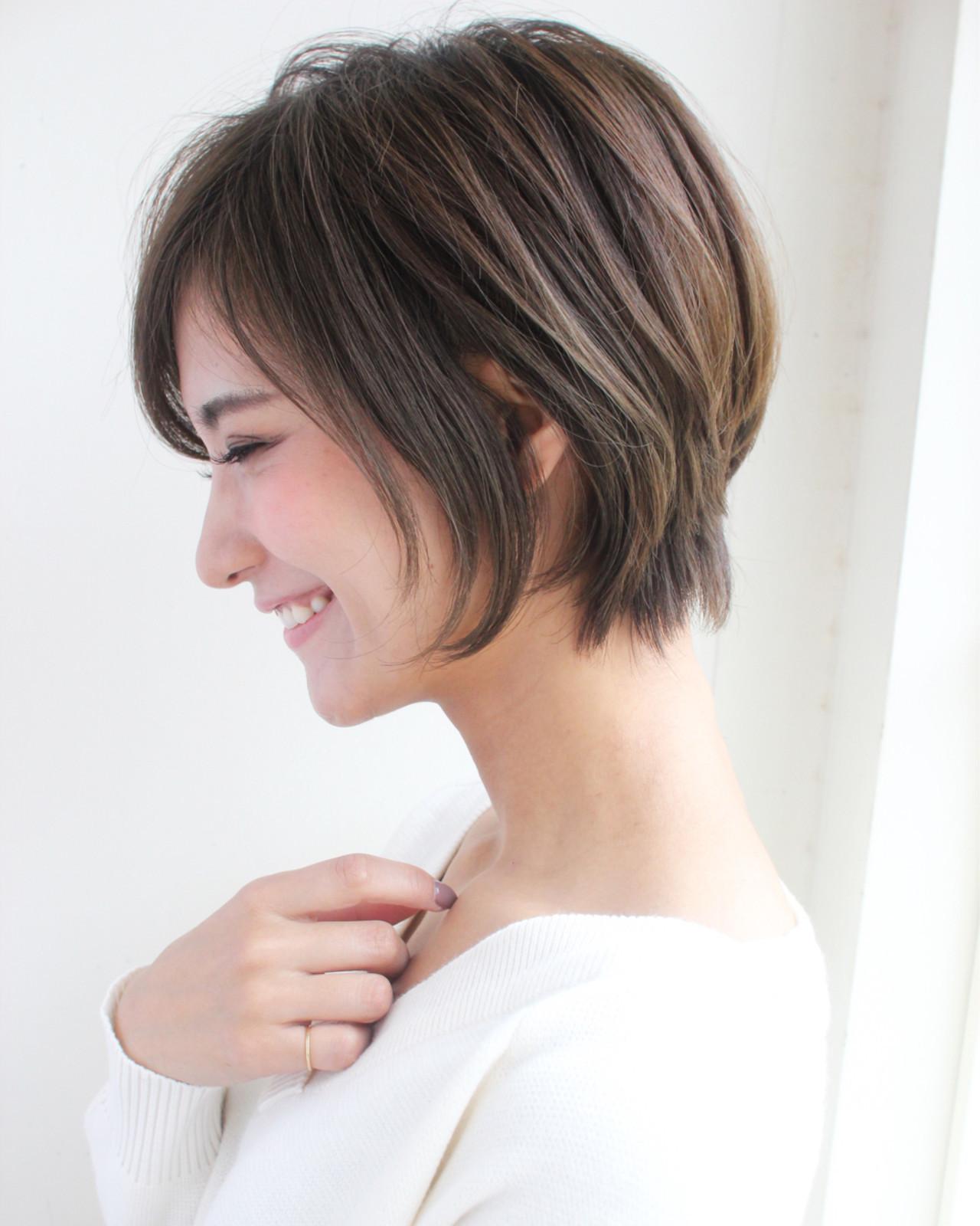 縮毛矯正をプラスして、完成度の高いショートスタイルの完成♡の12枚目の画像
