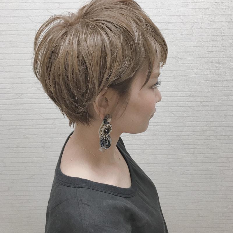 髪型ワンポイント!ベリーショート×インナーカラーを楽しむ♪
