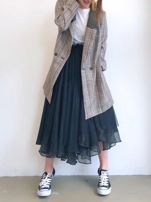 レディース必見!【チュールスカート】の旬な着こなしバッチリ講座♡の10枚目の画像