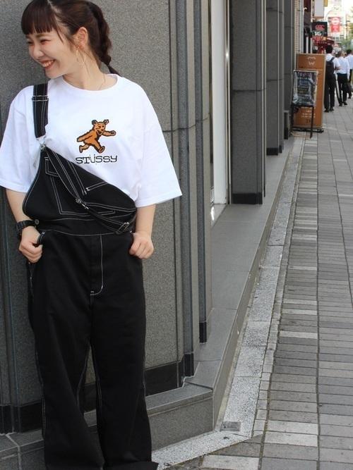 話題のマストアイテム「STUSSY」のTシャツはこう着るべし♡の6枚目の画像