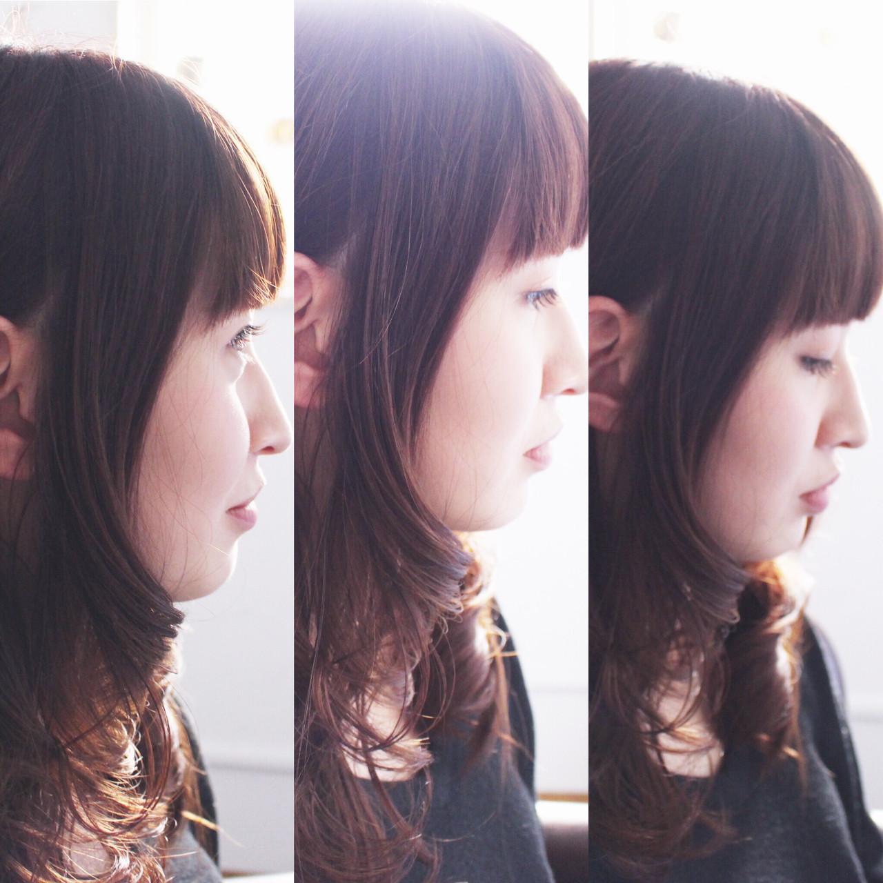 《暗めピンクグレージュ》甘モテpointをおさえた、きゅん髪へ♡の1枚目の画像