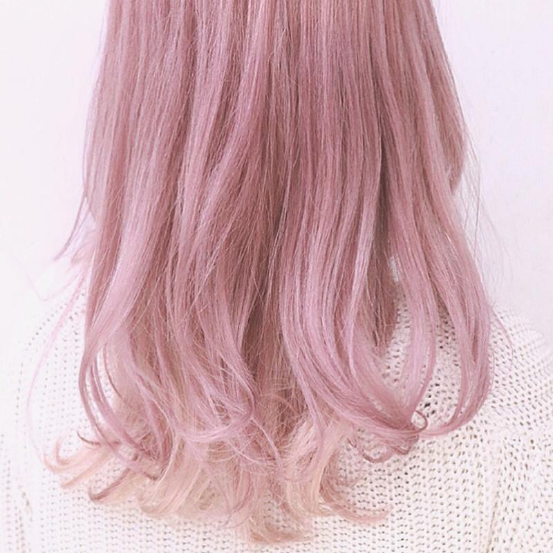 やっぱりモテカラーは王道ピンク。セルフカラーで叶えるピンクヘア♡
