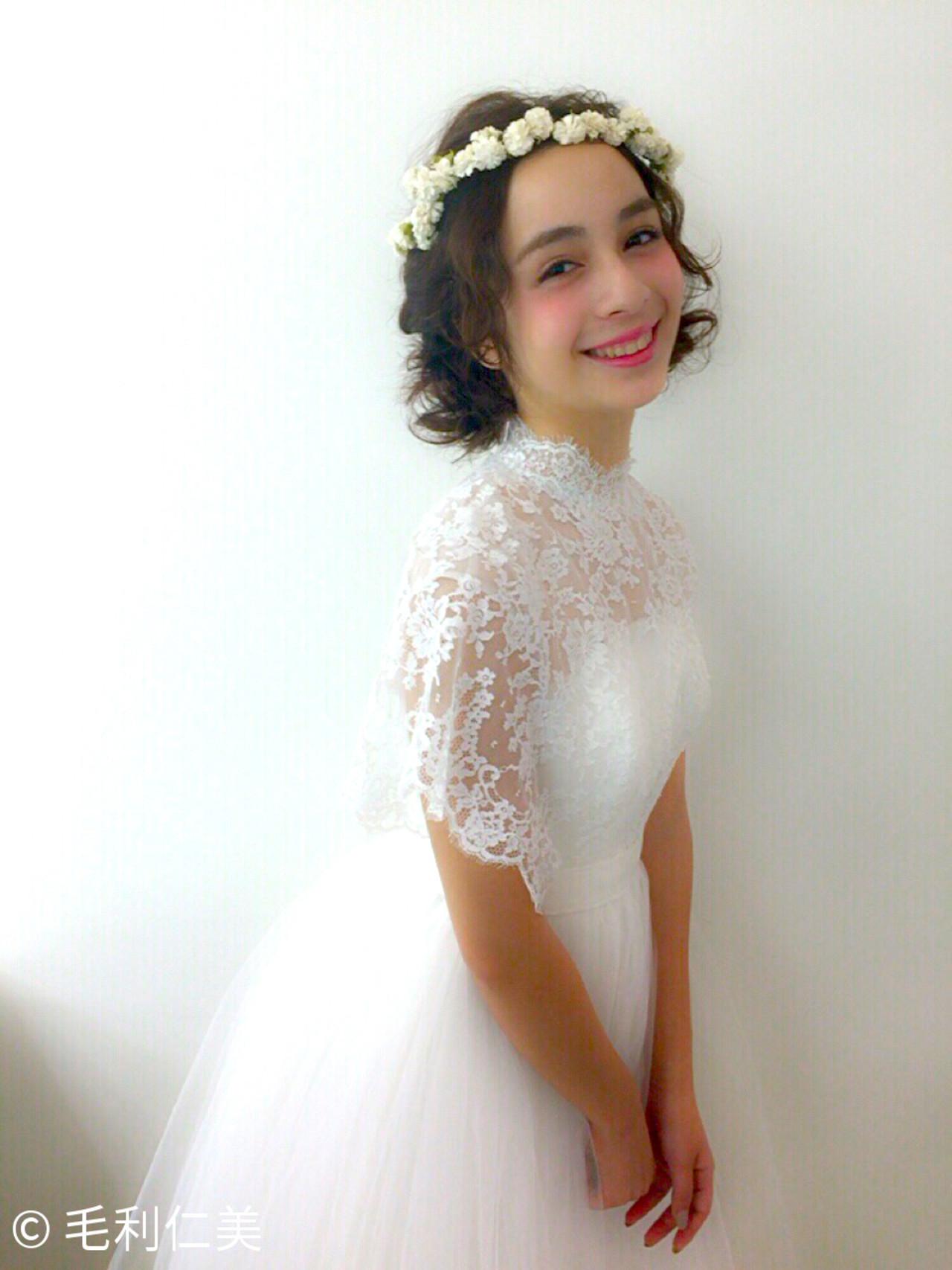 《花嫁アレンジ特集》結婚式の主役はあなた♡ステキな髪型を選ぼう!の18枚目の画像