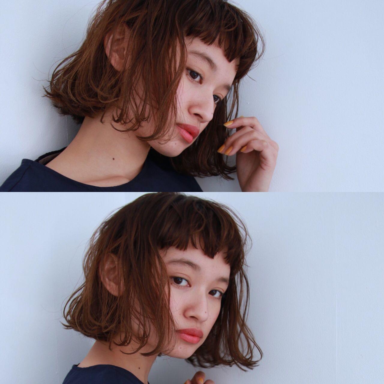 【韓国好き必見!】オルチャンかわいいM字バング♡M字前髪の作り方の12枚目の画像