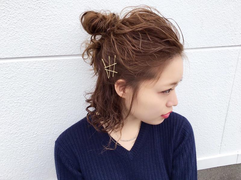【レングス別】簡単×大人可愛いハーフアップお団子アレンジを攻略♡